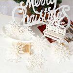 Sea Team Lot de 36 décorations pour sapin de Noël Plastique Paillettes Flocon de neige 10,2cm de la marque Sea Team image 1 produit