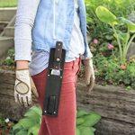 Secret Garden - Pelle de jardin tout usage Hori Hori japonais - Outil d'élagage et de creusage de paysage avec la lame en acier inoxydable, la gaine et l'outil en pierre humide de la marque Victoria's Secret image 4 produit