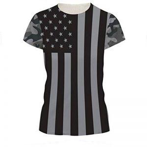 SEVENWELL Unisexe Creative 3D Printing T-Shirts Imprimés Numériques Tops configuration Drôle Tees Hommes Femmes de la marque SEVENWELL image 0 produit