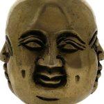 ShalinIndia Bouddhiste décor laiton sourire rire statue de Bouddha de la marque ShalinIndia image 2 produit