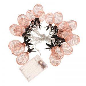 Sharplace Guirlandes Lumieuses de Ananas Fer à 20LEDs Décoration pour Sapin Noël de la marque Sharplace image 0 produit