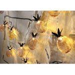 Sharplace Guirlandes Lumieuses de Ananas Fer à 20LEDs Décoration pour Sapin Noël de la marque Sharplace image 1 produit