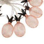 Sharplace Guirlandes Lumieuses de Ananas Fer à 20LEDs Décoration pour Sapin Noël de la marque Sharplace image 3 produit