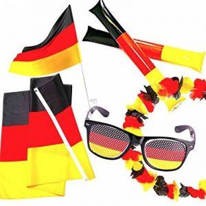 sicu REZZA Prima Fan Set de l'Allemagne–Best of Fan Article pour les Football Coupe du Monde 2018en Russie de la marque SicurezzaPrima image 0 produit