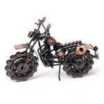 Signstek Moto Rétro en Fer, Moto en Chaîne Métal, Décoration Artistique, Modèle Sculpture Ouvrage de la marque Signstek image 2 produit