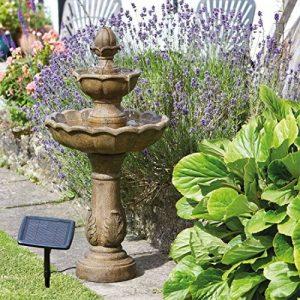 SMART Garden solaire Kingsbury 3étages Jardin Fontaine Bain d'oiseaux de la marque Smart Garden image 0 produit