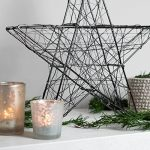 SnowEra - Décoration lumineuse/Illumination de Noël en Métal avec 140 micro-LED - Couleur LED : Blanc chaud - Forme : Étoile en métal noir de la marque SnowEra image 3 produit