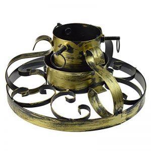 Socle pour sapin de Noël - traditionnel/peint à la main/en métal - doré de la marque Harbour Housewares image 0 produit