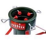 Socle pour sapin de Noël - traditionnel/support en plastique/structure en métal - rouge/vert de la marque Harbour Housewares image 1 produit