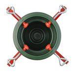 Socle pour sapin de Noël - traditionnel/support en plastique/structure en métal - rouge/vert de la marque Harbour Housewares image 4 produit