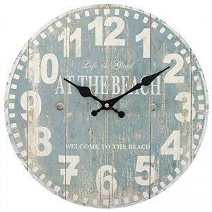 Something Different Horloge bleue motif plage de la marque Something Different image 0 produit