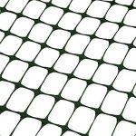 SORARA Barrière de sécurité PE/Clôture Vert | 30 M/3000cm de long/1,2 m/120 cm de haut/Résistent/Maille/Maillage/Rouleau/Pelouse/Jardin/Agricole/Environnement de la marque SORARA image 3 produit
