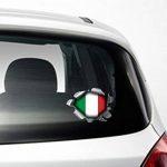 Speed Demons Pride Burst Rip Torn usure Sticker Autocollant pour Ordinateur Portable n'importe quelle surface, y compris graphique et voitures–Italie Drapeau italien de la marque BITS4REASONS image 1 produit