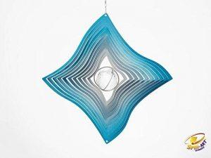 Spin Art Design diamant avec boule de cristal transparent à vent bleu de la marque Spin-Art image 0 produit