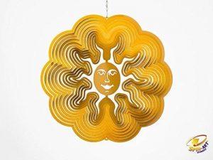 Spin Art Design original à vent Soleil 6-Inch doré de la marque Spin-Art image 0 produit