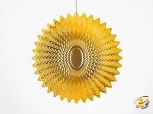 Spin Art Design Splash à vent 6-Inch Silver de la marque Spin-Art image 0 produit