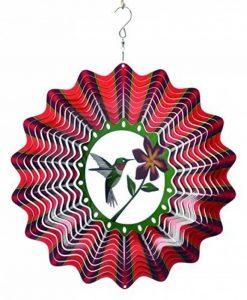 Spin type de carillon Hummingbird Multicolore, 30x 30x 0,5cm, 12phu300 de la marque Spin-Art image 0 produit