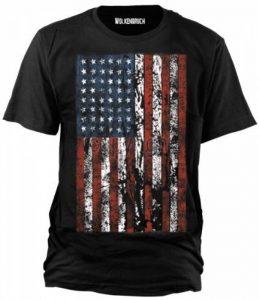 Sputnik-Shirts T-shirt (tailles de la s à 5XL), la conception de drapeau de l'Amerique du Nord. de la marque Sputnik Shirts image 0 produit