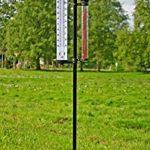 Station météo thermomètre pluviomètre anémomètre précipitations mesure indicateur direction du vent de la marque Harms image 4 produit