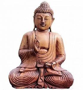 statue bouddha bois TOP 2 image 0 produit