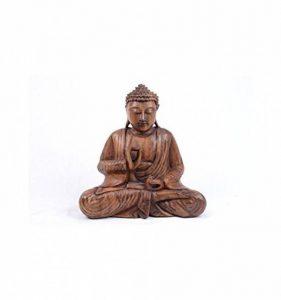 statue bouddha bois TOP 6 image 0 produit