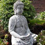 Statue Bouddha Shiva de pierre, sont expédiés, au gel jusque -30 °c , en massif pierre … de la marque Stone and Style image 1 produit