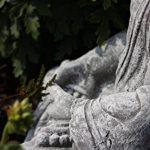 Statue Bouddha Shiva de pierre, sont expédiés, au gel jusque -30 °c , en massif pierre … de la marque Stone and Style image 3 produit
