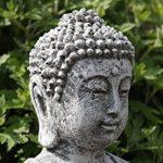 Statue Bouddha Shiva de pierre, sont expédiés, au gel jusque -30 °c , en massif pierre … de la marque Stone and Style image 4 produit
