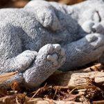 Statue chat chiot rêve, sont expédiés, au gel jusque -30 °c , en massif pierre de la marque Stone and Style image 2 produit