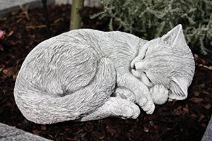 Statue chat endormi, sont expédiés, au gel jusque -30 °c , en massif pierre … de la marque Stone and Style image 0 produit