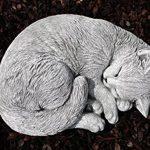 Statue chat endormi, sont expédiés, au gel jusque -30 °c , en massif pierre … de la marque Stone and Style image 3 produit