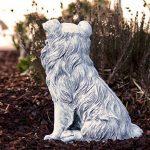 Statue chien Collie, au gel et aux intempéries-massif en pierre … de la marque Stone and Style image 4 produit