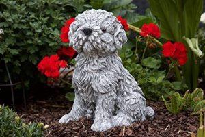 Statue chien Shih-Tzu, au gel et aux intempéries-massif en pierre … de la marque Stone and Style image 0 produit