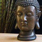 Statue de Bouddha, figure 30cm, décoration pour salon jardin ou balcon de la marque INtrenDU image 1 produit