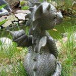 Statue de dragon de jardin assis de la marque Ars-Bavaria image 1 produit