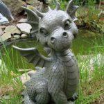 Statue de dragon de jardin assis de la marque Ars-Bavaria image 3 produit