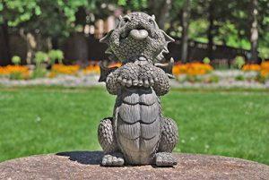 Statue de dragon de jardin Doggy, lieb bettelnd de la marque MC image 0 produit