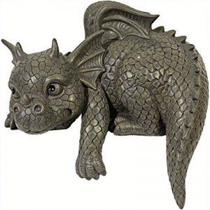 Statue de jardin en forme de dragon pour bordure Gauche de la marque Générique image 0 produit