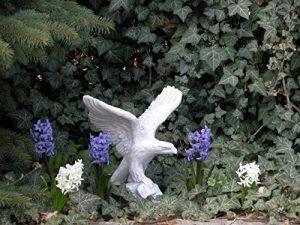Statue en pierre–Aigle en fonte, au gel de la marque gartendekoparadies.de image 0 produit