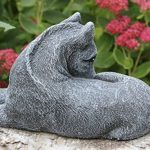 Statue en pierre cheval, petit format, gris ardoise, pierre recomposée de la marque Tiefes Handicraft image 2 produit