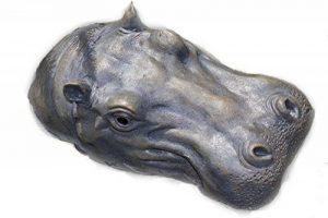 Statue flottante pour bassin ou fontaine - motif: hippopotame - L29cm de la marque Unbekannt image 0 produit