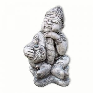 Statue Gardien assis, gris, fontaine (10231) de la marque Wilai image 0 produit
