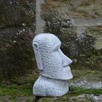 statue moai jardin TOP 1 image 2 produit