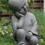 statue moine jardin TOP 0 image 1 produit
