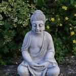 statue moine jardin TOP 2 image 3 produit