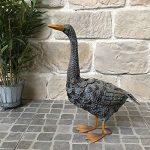 Statue Sculpture Canard en Fer Oiseau Oiseaux de Jardin 51 cm de la marque chemin_de_campagne image 2 produit