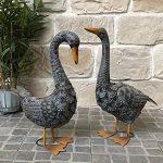 Statue Sculpture Canard en Fer Oiseau Oiseaux de Jardin 51 cm de la marque chemin_de_campagne image 3 produit