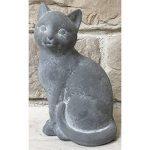 Statue Sculpture Chat en Ciment 25 cm de la marque chemin_de_campagne image 2 produit