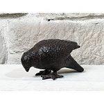 Statue Sculpture Oiseau Pigeon en Fonte de Jardin 18 cm de la marque chemin_de_campagne image 1 produit