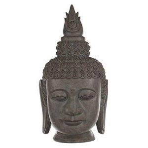 Statue tête de bouddha effet pierre 64cm de la marque JJA image 0 produit